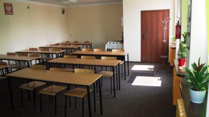 Sala Na Której Odbywają Się Szkolenia I Prezentacje